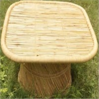 Handmade Square Cane Dining Table