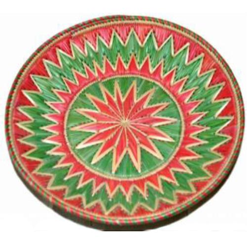 Round Cane Fruit Basket