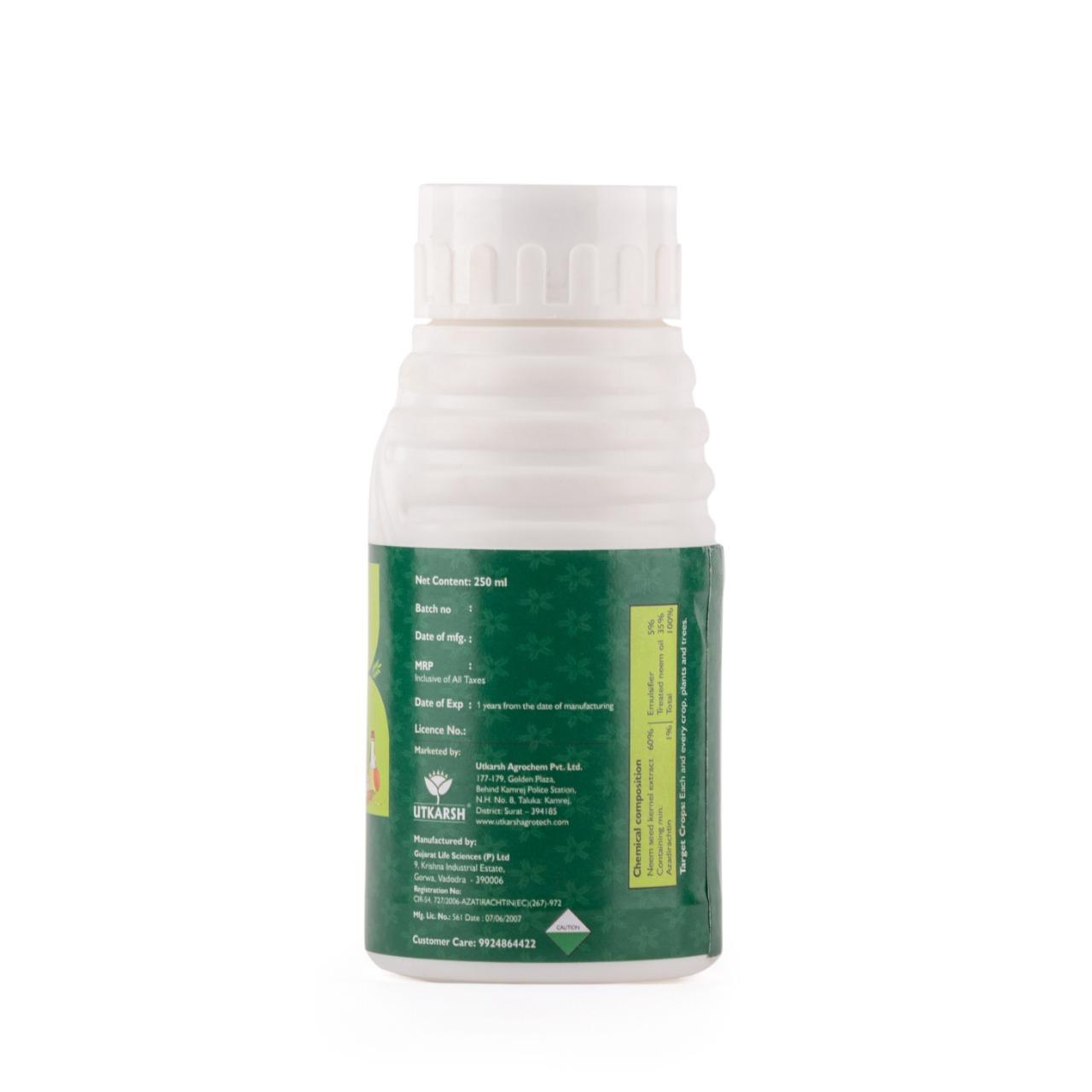Neem Oil - Azadirachtin E.C. 1% w/w, 10000 ppm