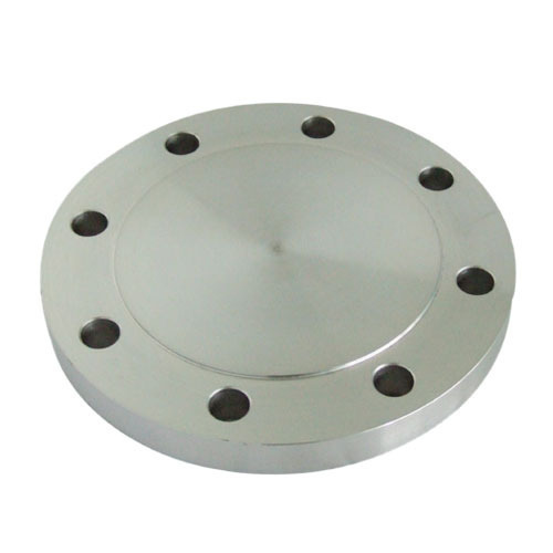 Round Blind MS Flange