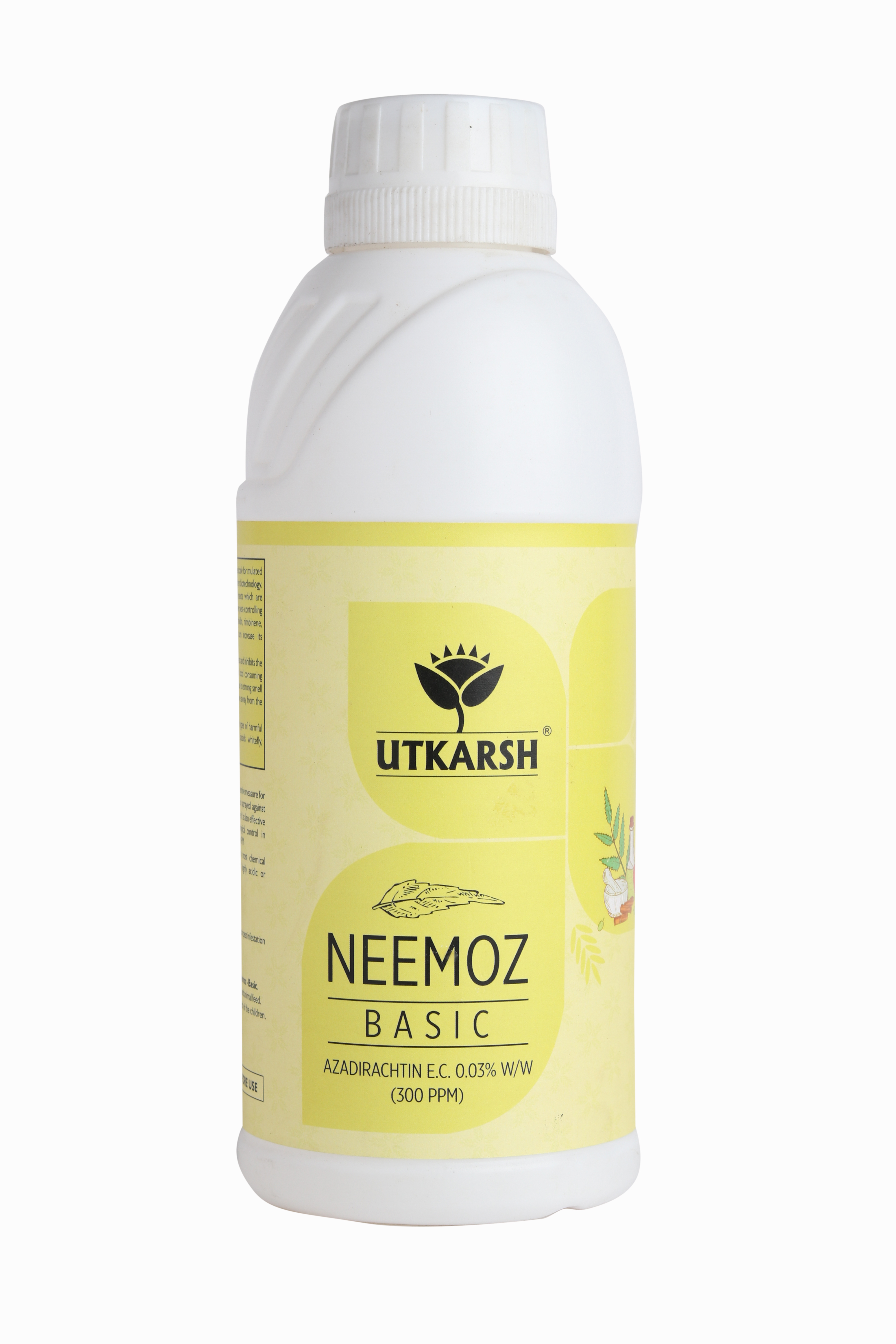 Natural Neem Oil With 300 ppm Azadirachtin