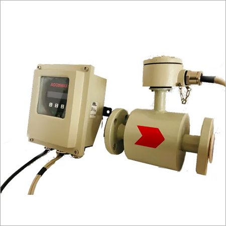 Remote Display Electromagnetic Flow Meter