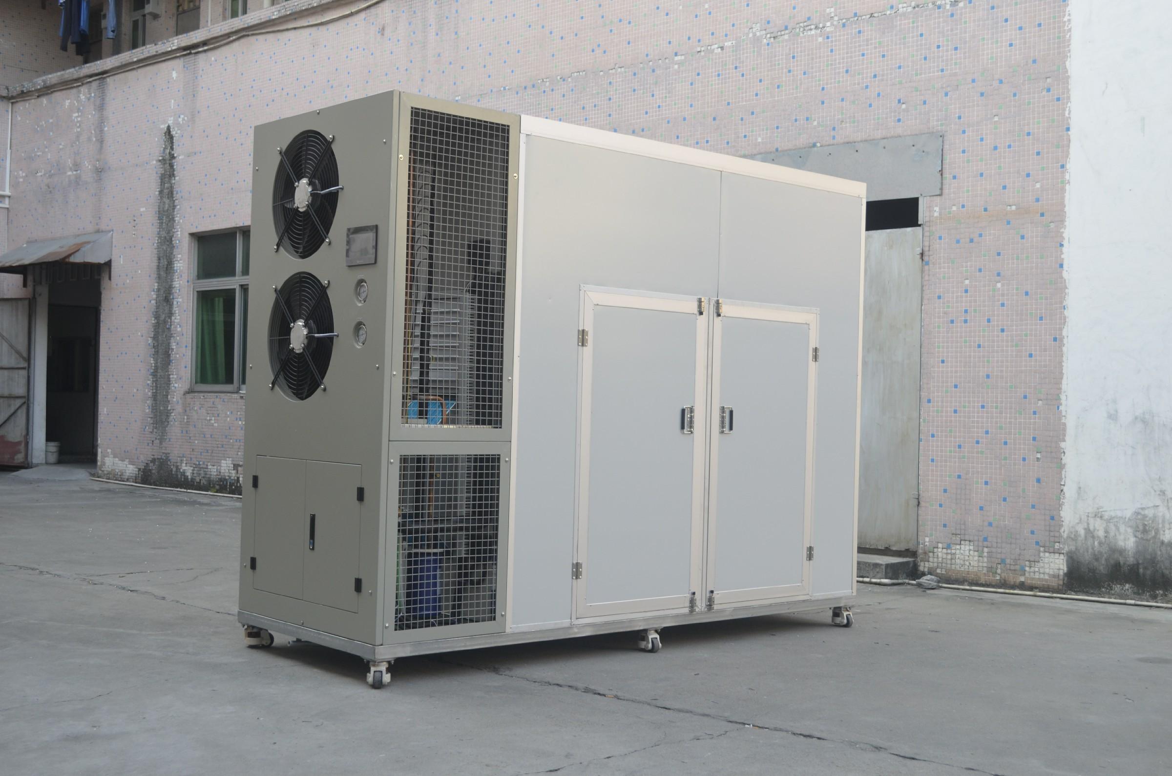 High efficient coconut dehydrator machine