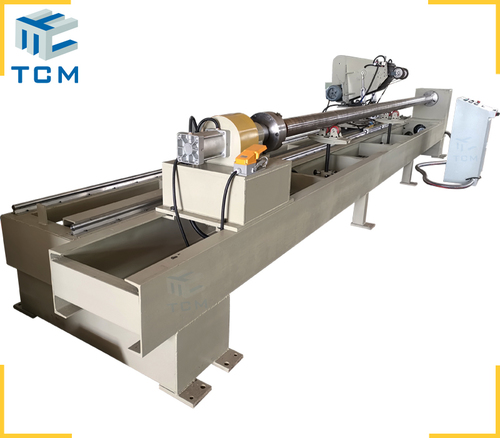Steel metal round pipe automatic polishing machine