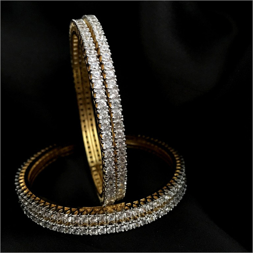 CZ Classic Bangle Set
