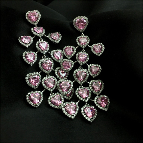 High Spark light Weight Heart Shape Danglers