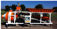 Mobile Plant With Reversible Drum Mixer
