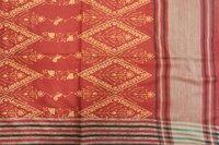 Premium Embroidery Over Jacquard Shawl