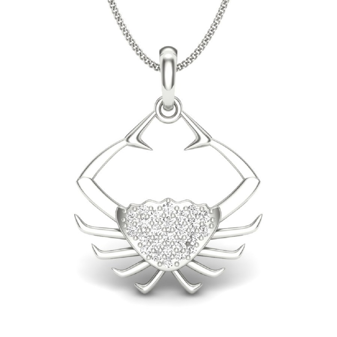 Zodiac Sign Silver Pendant