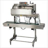 Horizontal Continuous Pouch Sealer Machine