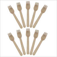 Wooden Disposable Fork