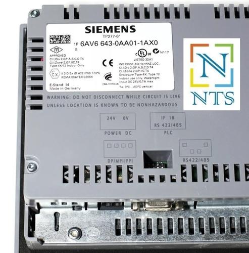 Siemens Tp277-6 Inch Hmi Display