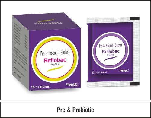 Lactobacillus acidophilus + Lactobacillus rhamnosus + Bifidobacterium longum +  Bifidobacterium bifidum +  Saccharomyces boulardii +  Fructooligosaccharides