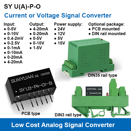 Low Cost Signal Converters