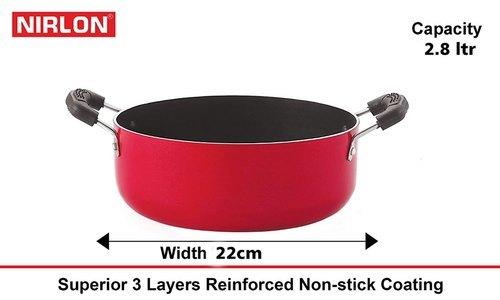 CS24cm 3L Nirlon Casserole Aluminum Nonstick Cooking Pot