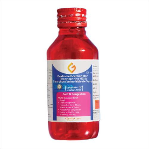 Dextromethorphan HBr Phenylephrine HCL And Chlorpheniramine Maleate Syrup