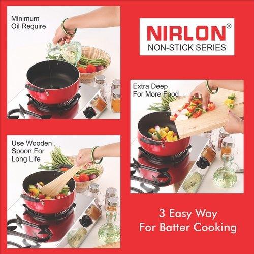 Nirlon Deep Casserole Cookware