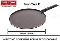 Nirlon Smart Non-Stick Multi-Purpose Dosa, Roti and Chapati Tawa, (Aluminium) ST-11