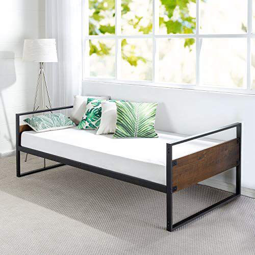 Steel And Wooden Bed