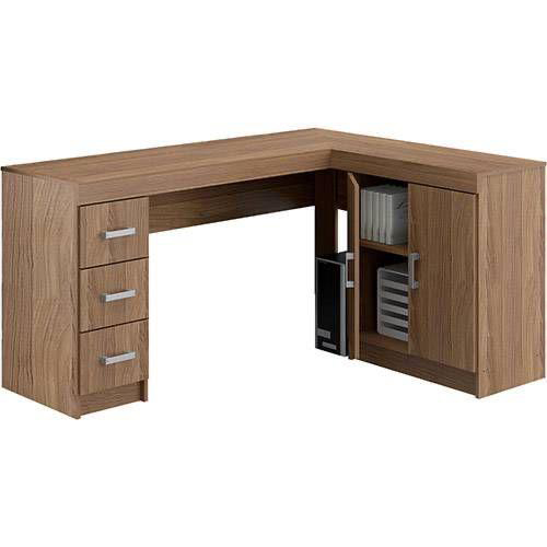 L Shape Wooden Executive Table