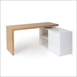L Shape Wooden Executive Desk