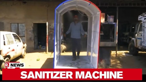 Sanitizer Machine