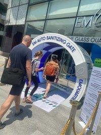 Entrance Sanitizing Machine
