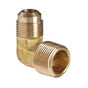 Brass Flare 90 Degree Male Elbow