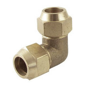 Brass Flare 90 Degree Union Elbow