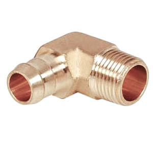 Brass SIngle Burb Male Elbow