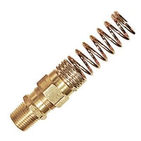 Air Brake Hose Male Connector With Spring