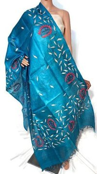 Hand Embroidery Long 2.5 Mtr Dupatta