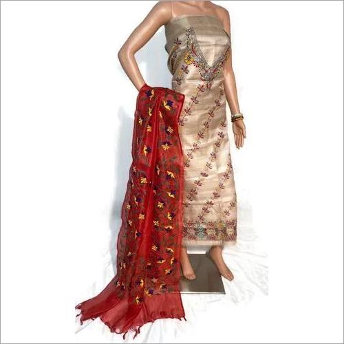 Full Kantha Embroidery Dupatta