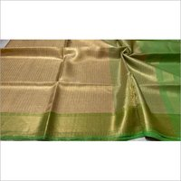 Pure Tissue Tussar Silk Self Weaving Saree