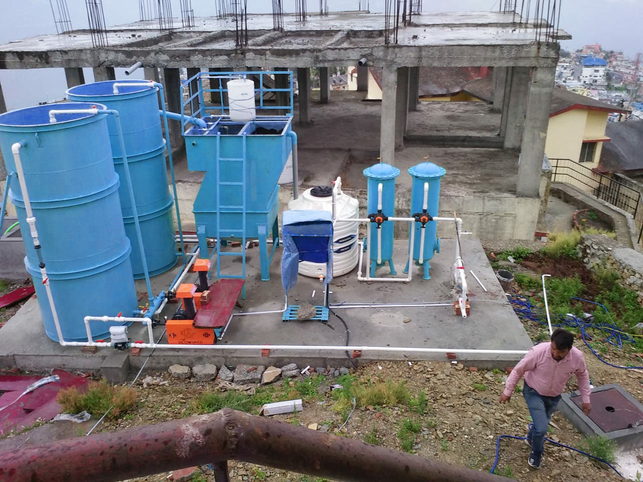 Organically Water Treatment plant