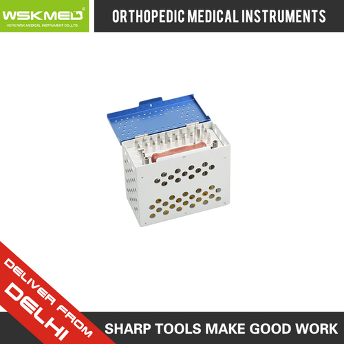 WSKMED Broken Screw Removal Set Simple Orthopedic Trauma Surgical Instrument Hospital Medical