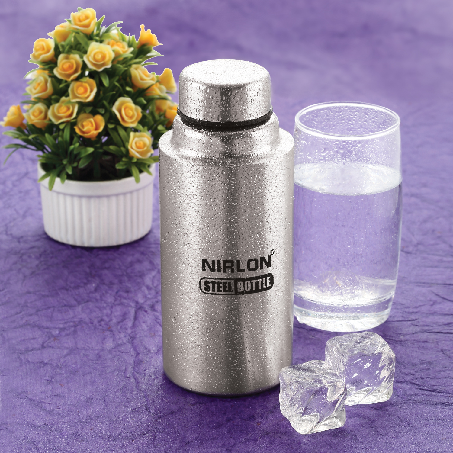 650ml Stainless Steel Single Wall Water Bottle
