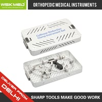 WSKMED Collinear Reduction Clamp Instrument Set Orthopedic Trauma Surgical Hospital Medical