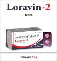 Lorazepam 1 mg./2 mg.