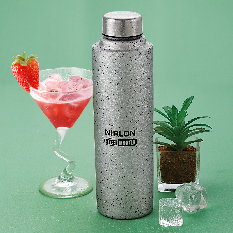 1000ML Silver Water Bottle
