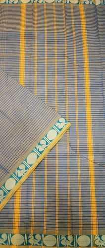 Traditional Handloom Cotton Saree