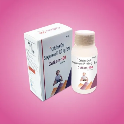 10 Mg / 5 Ml Cefixime Oral Suspension IP