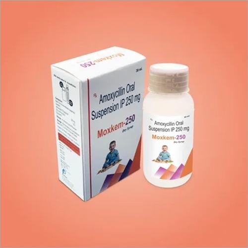 250 Mg Amoxycillin Oral Suspension IP