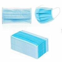 3 Ply Disposable Face Mask with Elastic