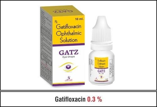 Gatifloxacin   0.3 % w/v