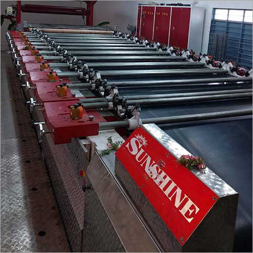 Manual Rotary Screen Printing Machine