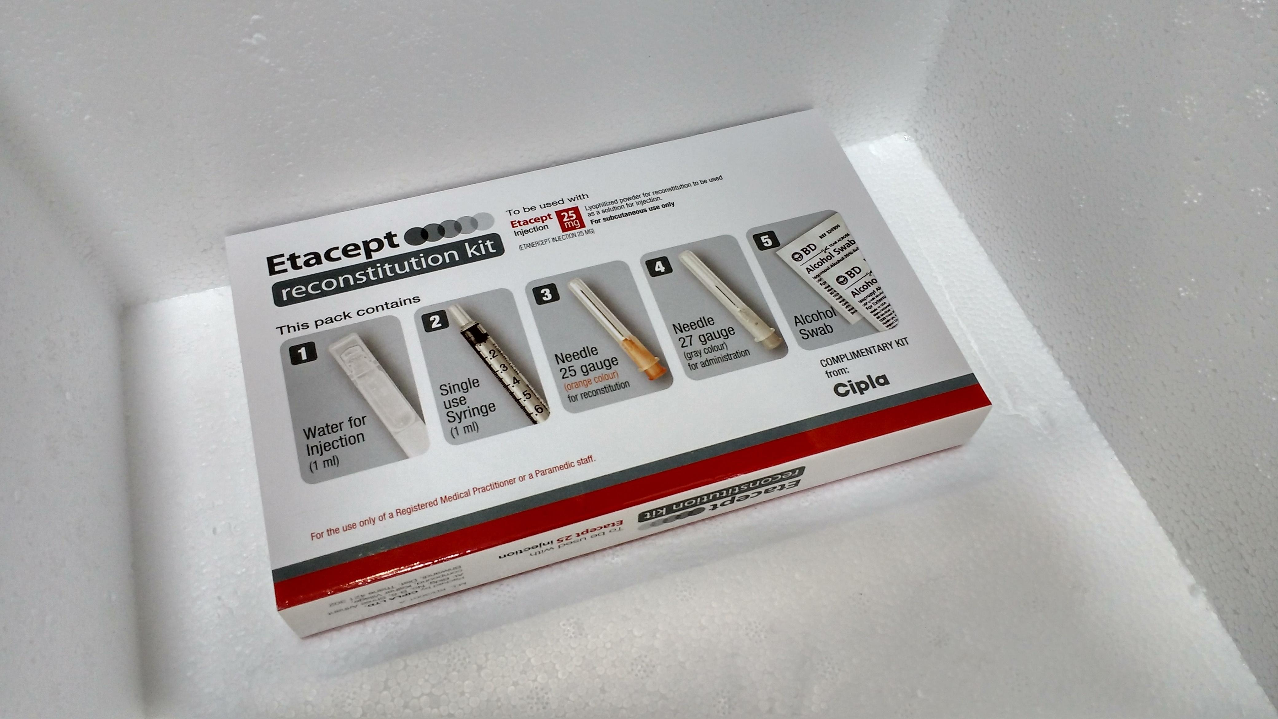 Etacept 25mg & Etacept Kit