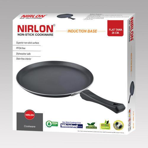 26 cm Nirlon Induction Black Tawa