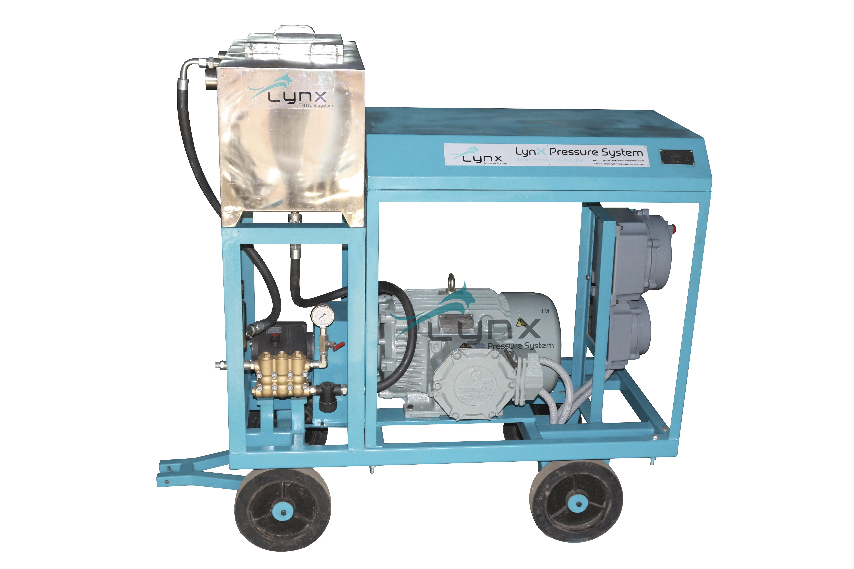 Portable Hydrostatic Test Pump