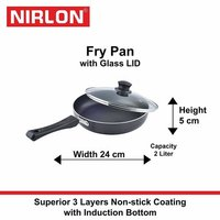 Nirlon Induction Frying Pan
